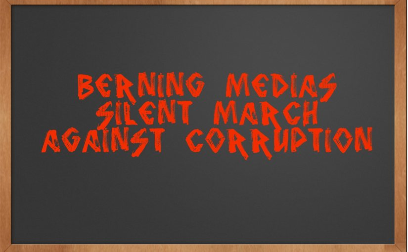 CALIFORNIA: Berning Media March Against Corruption (JULY 8)
