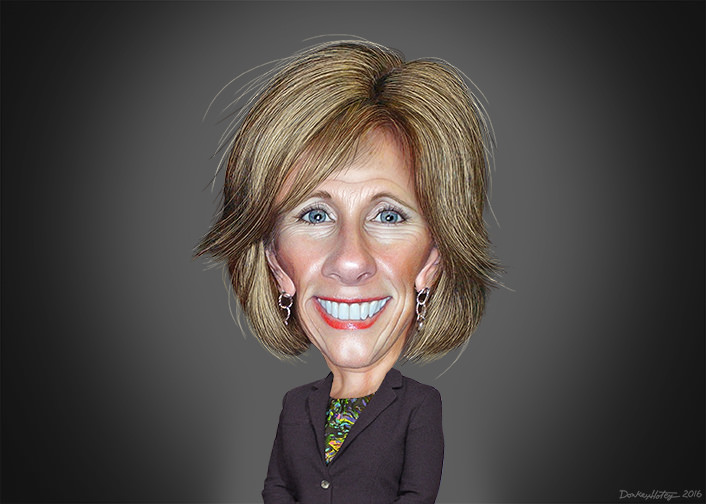 Secretary of Education Betsy Devos, plans to give your tax dollars to private schools and businesses by MichelleShanks