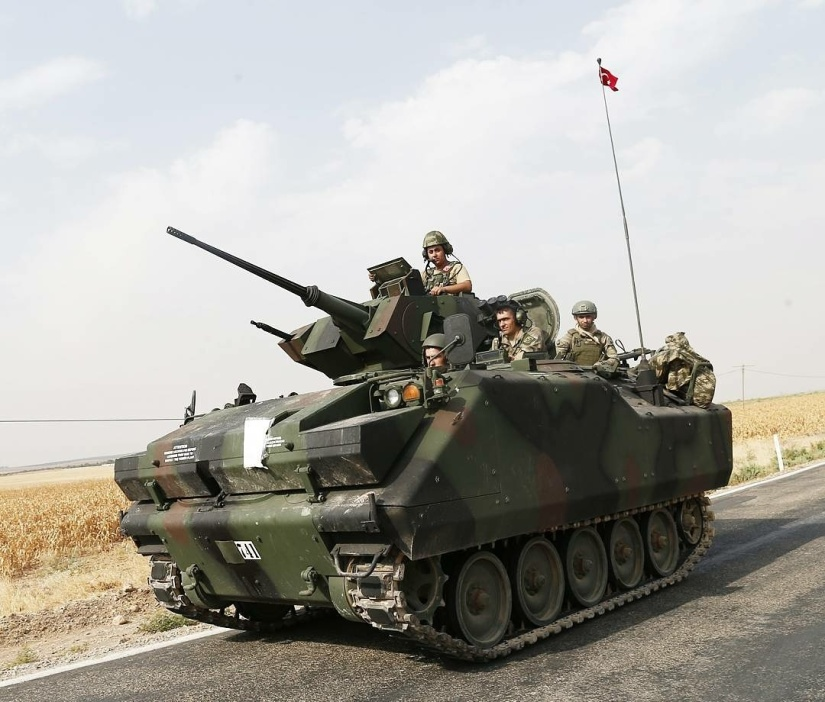 Turkish army is preparing for an all-out offensive on areas currently held by the PKK and YPG in northernSyria