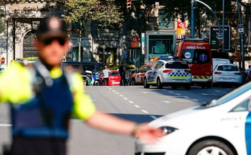 Islamic State claims responsibility for van attack in Barcelona