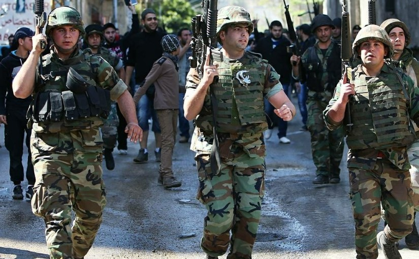Lebanese army kicks off an offensive against an Islamic State enclave on the border withSyria