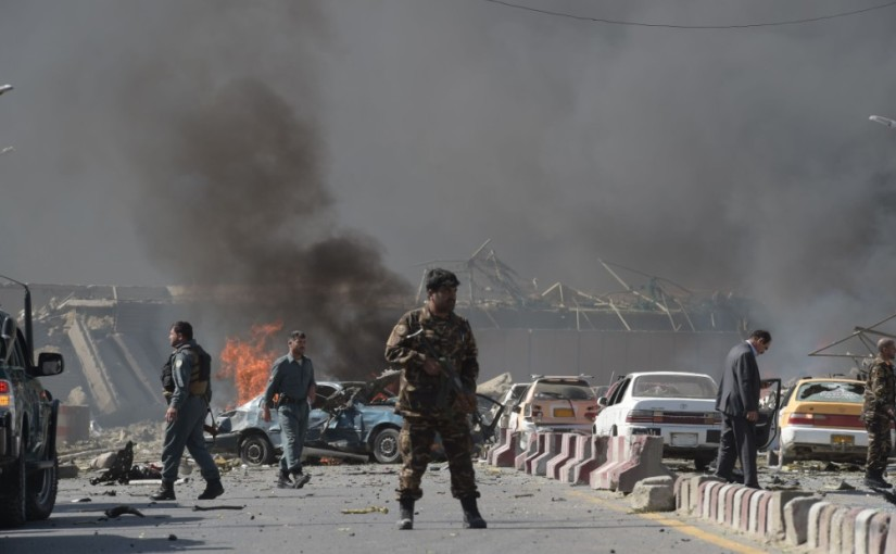 Blast kills three in Kabul