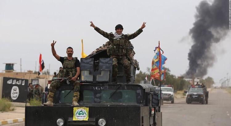 Islamic State push Kurdish forces back, taking twovillages