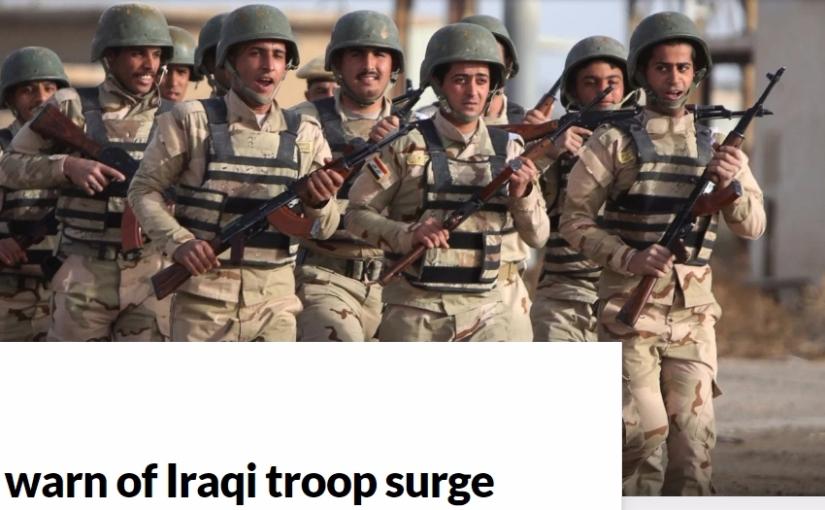 Kurds warn of Iraqi troopsurge