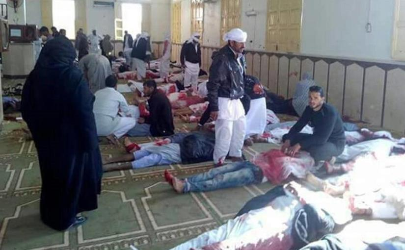 Attack on Egyptian mosque kills over230