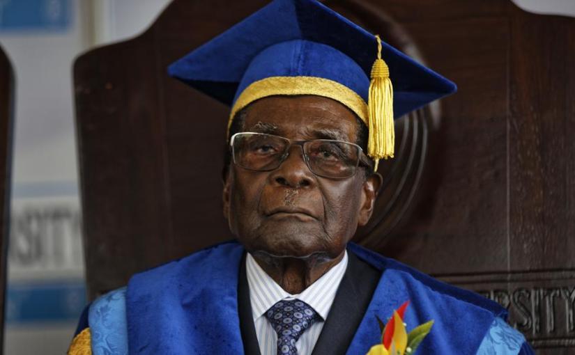 Zimbabwe's ruling party fires Mugabe asleader