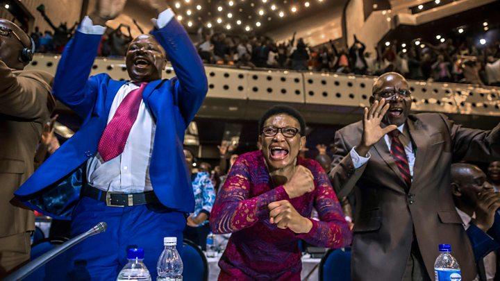 Mugabe resigns as President ofZimbabwe