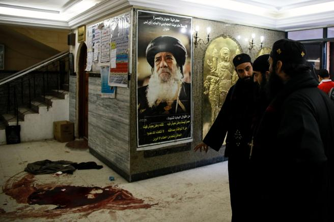 Nine killed in armed attack on Coptic community inEgypt