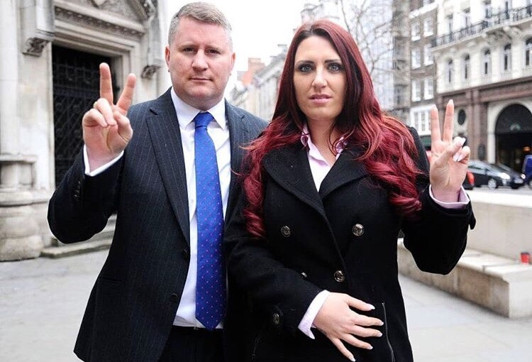 Britain First leader Paul Golding has beenarrested