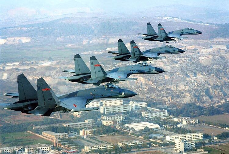 Chinese Air Force begins more military drills
