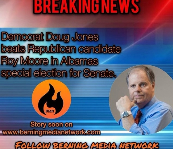 Doug Jones beats child predator in Alabama race for the Senate