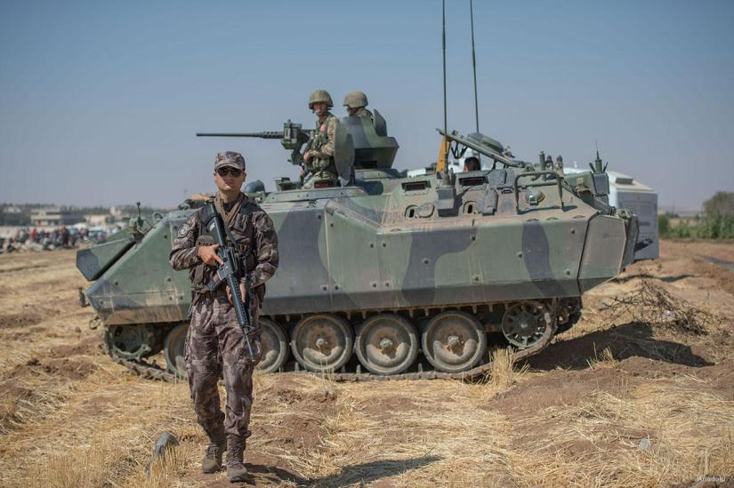Turkey continues aggressively shelling SyrianKurds