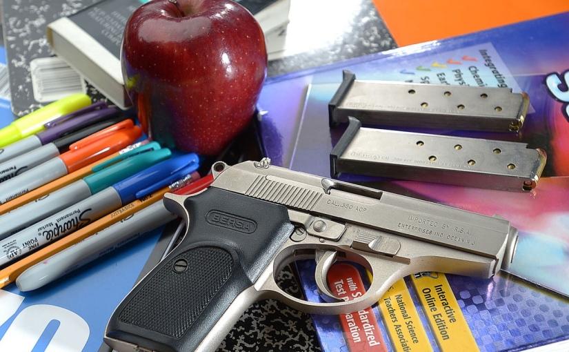 Illinois school district looks at armingteachers
