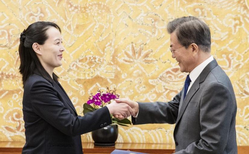 Kim Jong Un invites South Korea president to meet inPyongyang