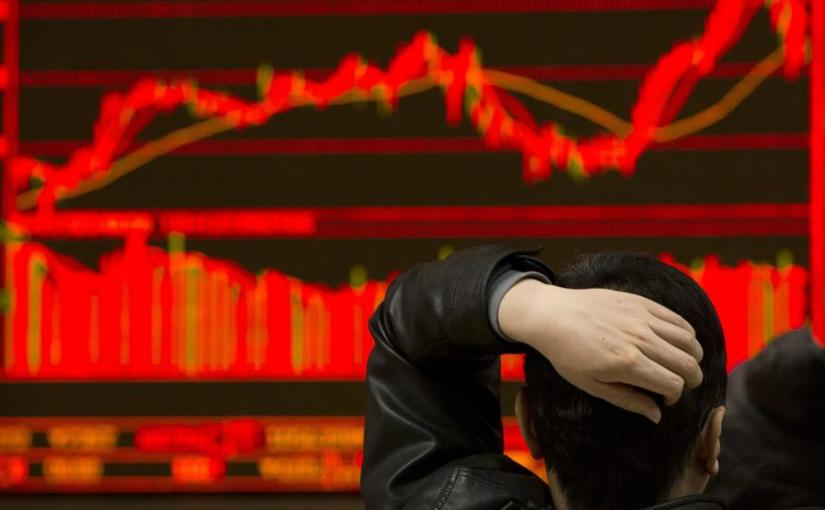 European and Asian stock markets  follow US in share tumble