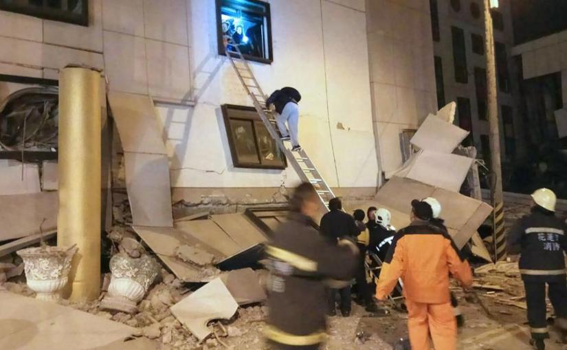 Deadly earthquake hitsTaiwan