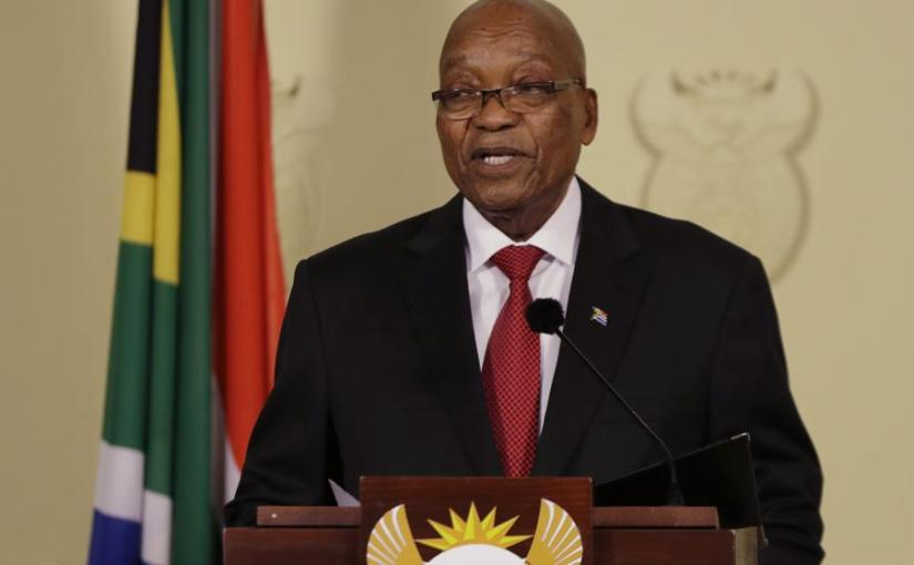 Zuma steps down as President of South Africa