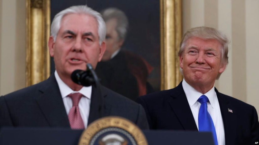 Rex Tillerson removed as Secretary of State
