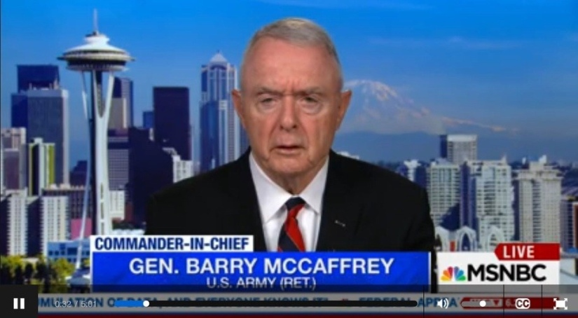 "Retired Army General Claims Donald Trump is a ""National Security threat"", claiming him to be a Putin puppet"