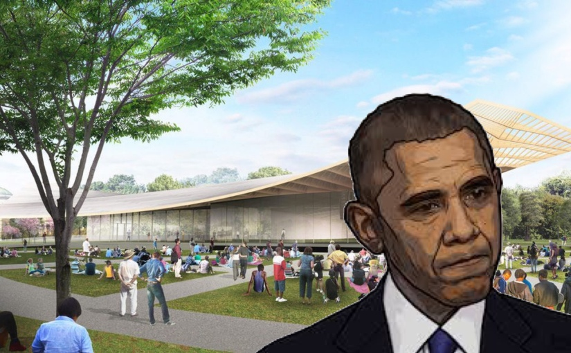 "Barack Obamas ""Presidential Library"" causes low income areas Home Values to sky rocket"