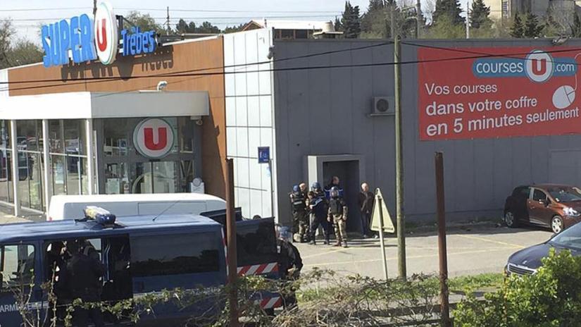 Three dead in southern France terroristattack